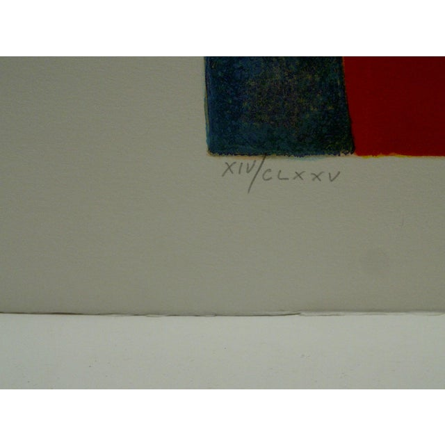 Limited Edition Signed Print Spring Claude Gaveau For Sale - Image 4 of 5