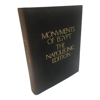 Monuments of Egypt: The Napoleonic Edition Book For Sale