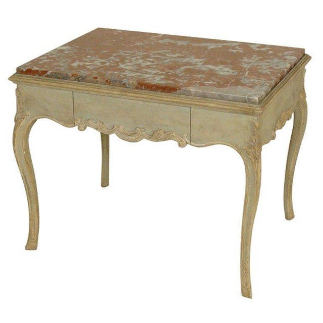 Louis XV Painted Occasional Table For Sale - Image 9 of 9