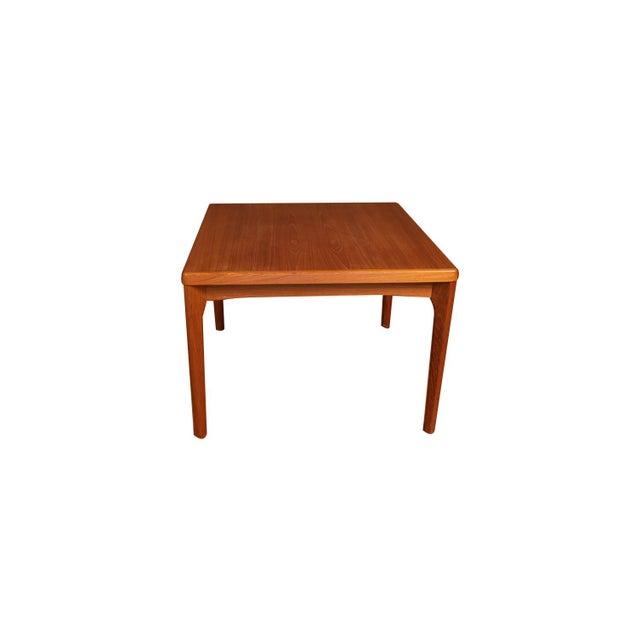 Mid-Century Modern Mid Century Vejle Stole Mobelfabrik Danish Side Table For Sale - Image 3 of 11