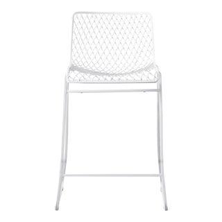 C'est Beau1872 White Fishnet Counter Stool For Sale
