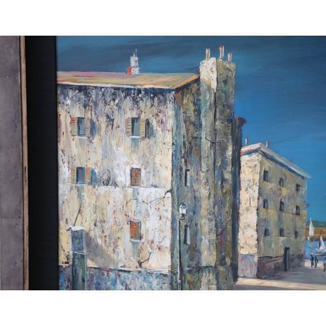 Italian Italian Scene Painting Signed Donati For Sale - Image 3 of 9