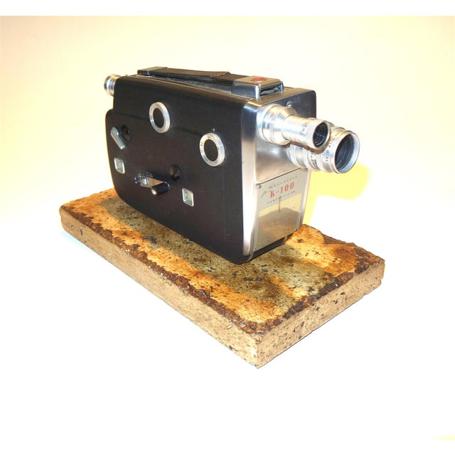 Suggested or your consideration is this beautiful Eastman Kodak 16mm K100 Motion Picture Camera, Circa 1955. It is sold...