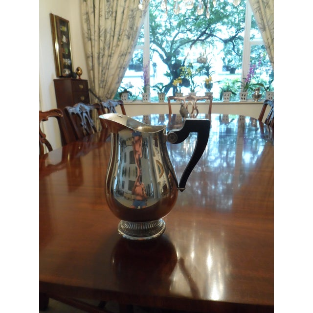 1990s Christofle Silver Plated Tea Set - 6 Pieces For Sale In West Palm - Image 6 of 9