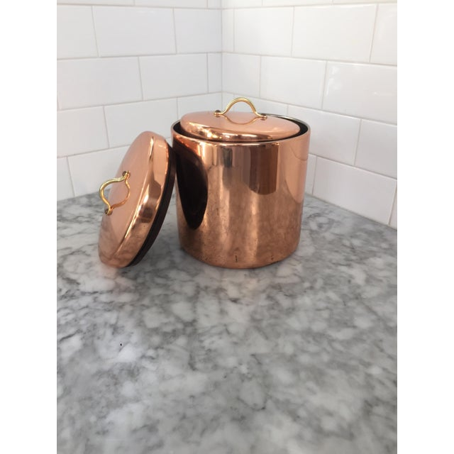 Vintage Nesting Copper Canisters - Set of 4 - Image 5 of 5