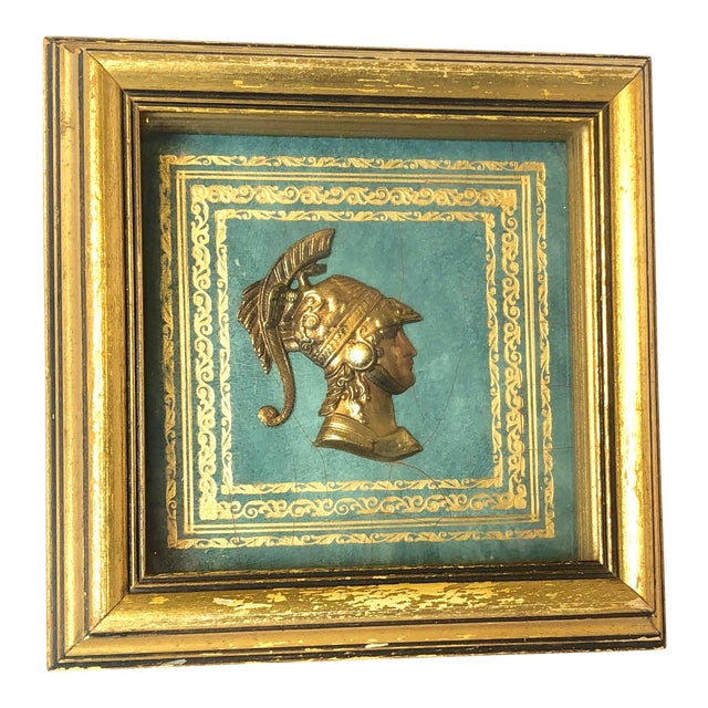 20th Century Grand Tour Roman Intaglio Medallion For Sale