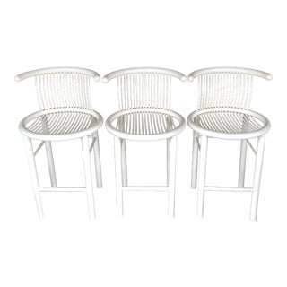 Helmut Lübke Sculptural Bar Stools - Set of 3
