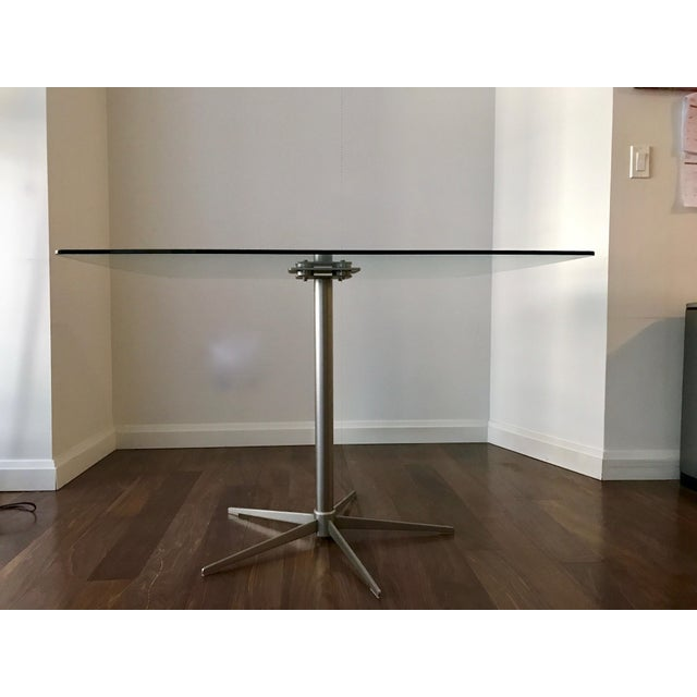 Square Glass Dining Table - Image 7 of 10