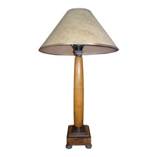 Pair of Biedermeir Style Lamps For Sale