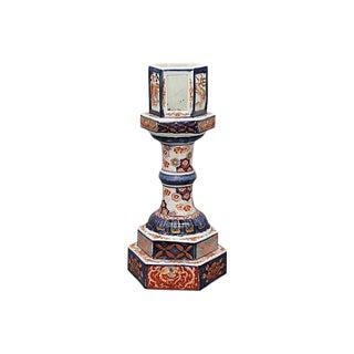 Antique Imari Lantern Base For Sale