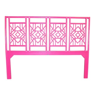 David Francic Furniture Hibiscus Pink Tulum King Headboard
