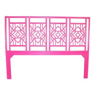 David Francis Furniture Hibiscus Pink Tulum King Headboard