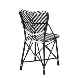 Eichholtz Colony Black & White Rattan Chair Preview