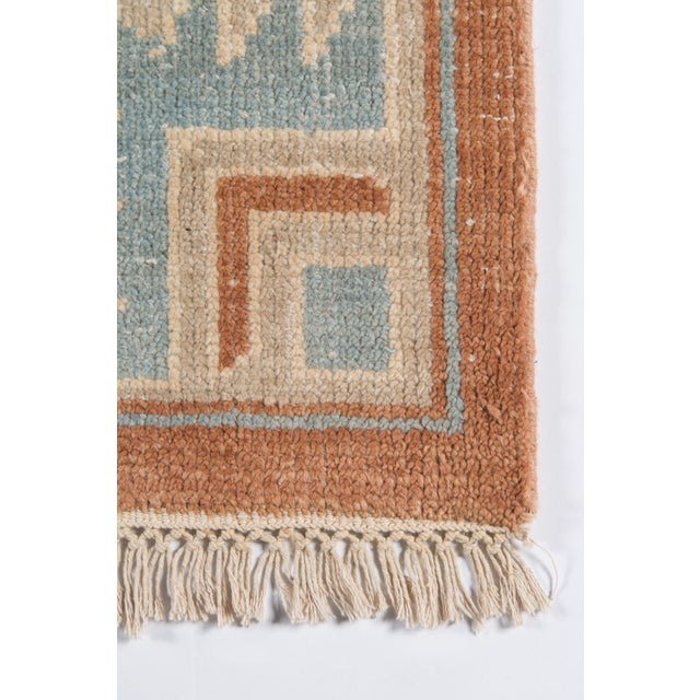"""Traditional Erin Gates Concord Walden Rust Hand Knotted Wool Area Rug 5'6"""" X 8'6"""" For Sale - Image 3 of 8"""