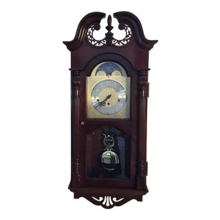 Sligh Chippendale Wall Clock For Sale