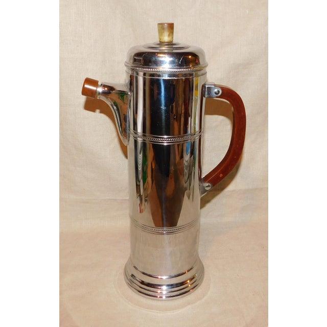 1950s Vintage Krome-Kraft Cocktail Shaker For Sale - Image 4 of 8