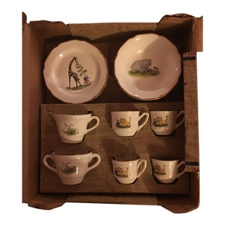 Children's USA Porcelain Party Set For Sale