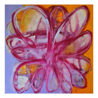 """Brenda Zappitell """"Bloom Memory"""", Painting For Sale"""