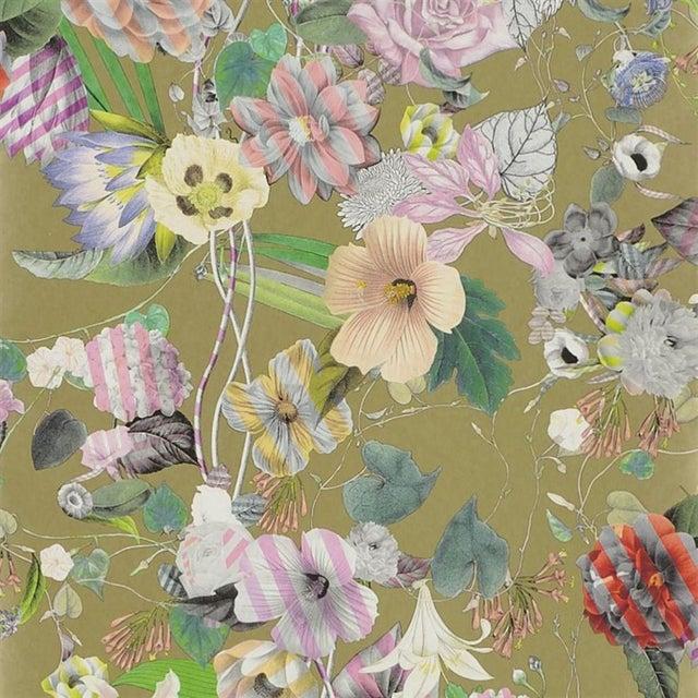 Christian Lacroix Christian Lacroix Malmaison or Wallpaper Sample For Sale - Image 4 of 5