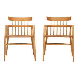Paul McCobb Captains Chairs - a Pair For Sale