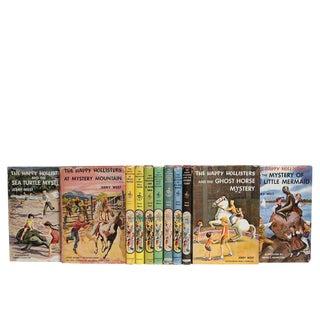 The Happy Hollisters - Vintage Dustjacket Book Set, S/11 For Sale