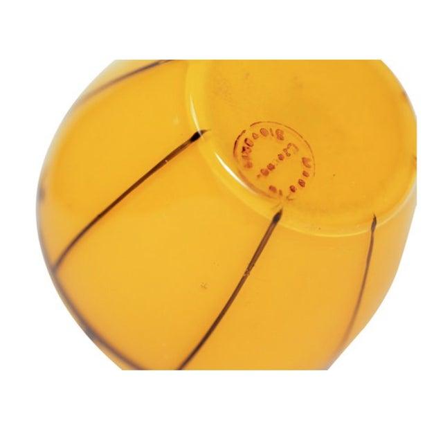 Czech Art Deco Tangerine Perfume Bottle - Image 2 of 3