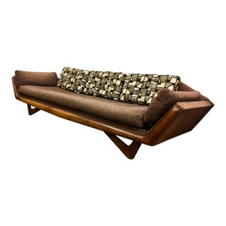 Original Adrian Pearsall for Craft Associates Gondola Sofa For Sale