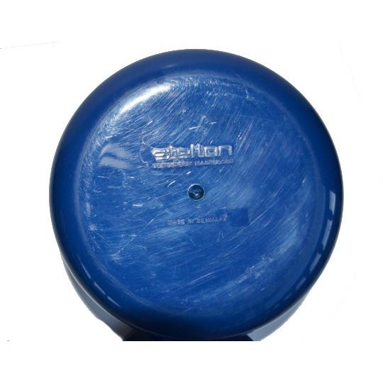 Acrylic Vintage Danish Modern Cobalt Blue Ice Bucket For Sale - Image 7 of 9