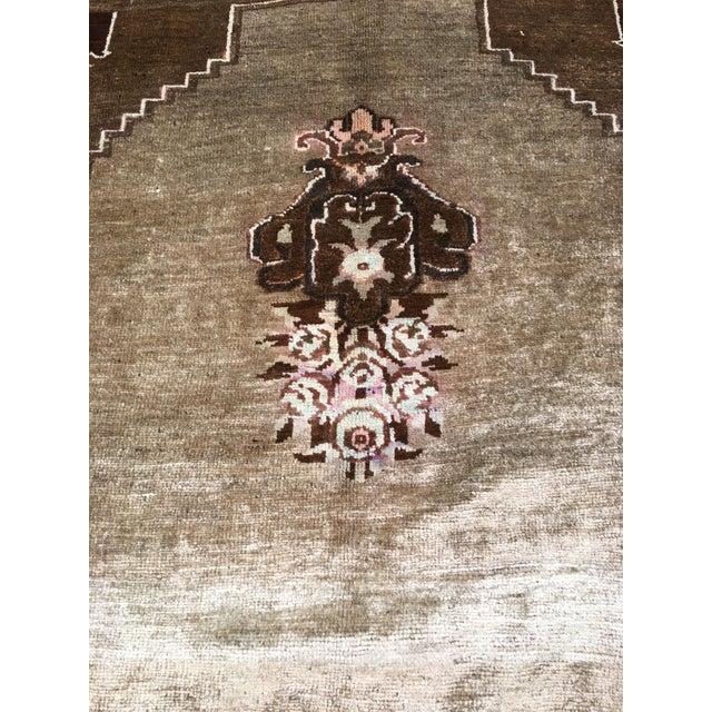 """Vintage Turkish Oushak Rug - 7'8""""x10'7"""" - Image 8 of 10"""