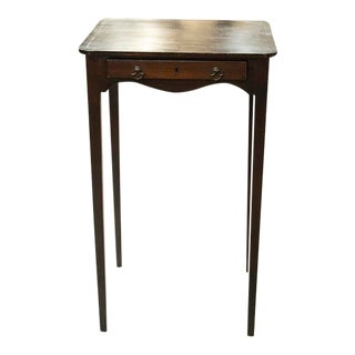 Georgian Square Side Table For Sale