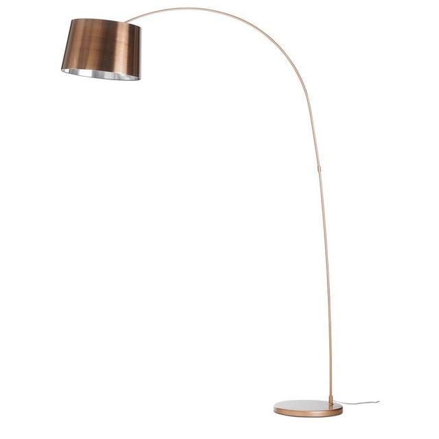 BoConcept Kuta Floor Lamp in Brushed Copper - Image 1 of 5
