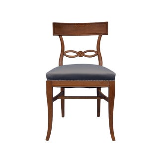 Vintage Mid Century Upholstered Chair For Sale