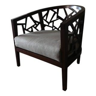 Ankara Frame Chair With Fabric Cushion For Sale