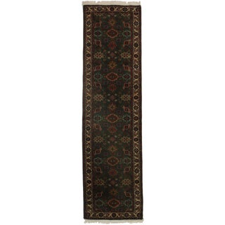 RugsinDallas Hand Knotted Persian Style Runner - 2′8″ × 9′8″ For Sale