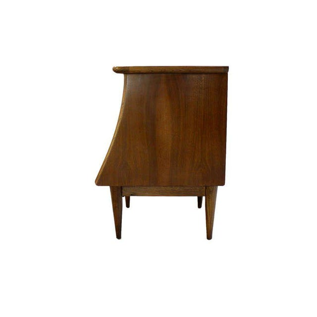 Danish Modern Pair of Danish Mid-Century Modern Walnut End Tables For Sale - Image 3 of 5