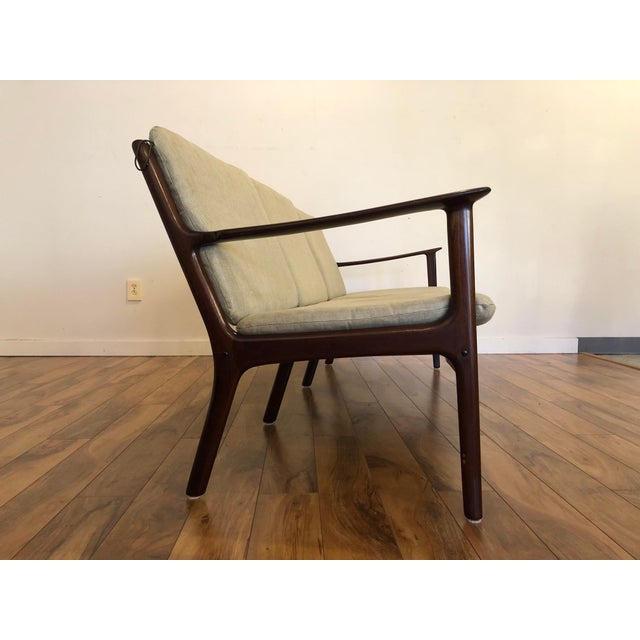 Mid 20th Century Vintage Mid Century Modern Sofa by Ole Wanscher for Poul Jeppesen For Sale - Image 5 of 13