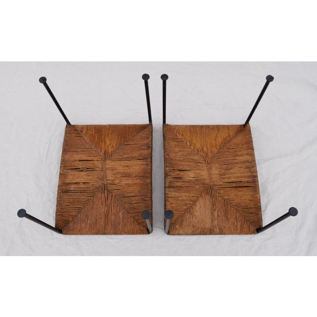 Arthur Uminoff Iron Benches - a Pair - Image 10 of 11