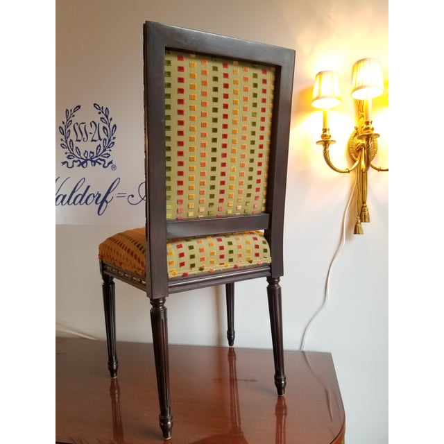 1980s 1980s Lewis Mittman Side Chair For Sale - Image 5 of 12