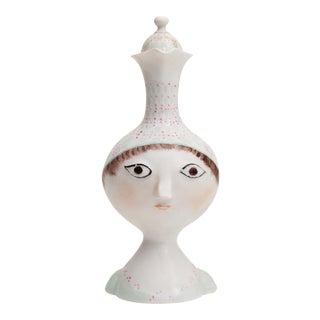 Bjorn Wiinblad for Rosenthal, Vintage Porcelain Decorative Pitcher For Sale
