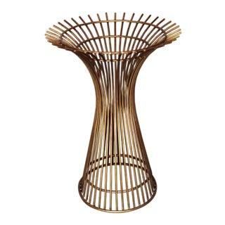 1970s Mid-Century Modern Beautiful Warren Platner Bronze Table Base