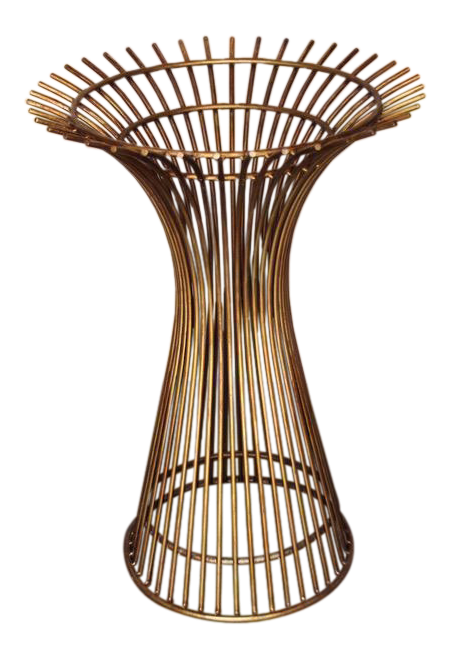 1970s Mid Century Modern Beautiful Warren Platner Bronze Table Base