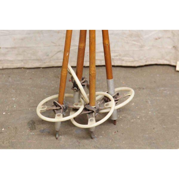 Set of Vintage Ski Poles - a Pair - Image 3 of 7