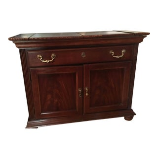 Broyhill Victorian Cherry Serving Table For Sale