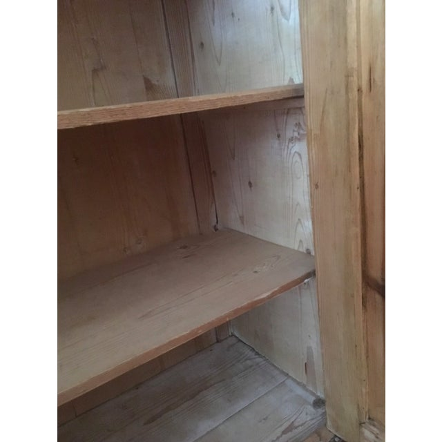 Late 19th Century 19th C Antique French Pine Cabinet For Sale - Image 5 of 13