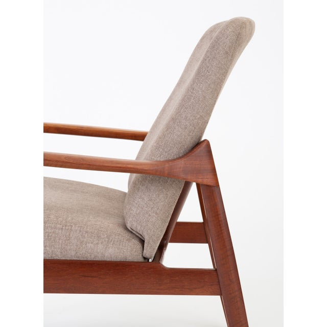 Model 125 Lounge Chair by Tove & Edvard Kindt-Larsen for France & Son For Sale - Image 10 of 13