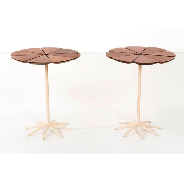 Schultz for Knoll indoor or outdoor tables, Schultz cites Queen Anne's Lace as his inspiration for these delicate tables...