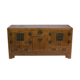 Chinese Style Reclaimed Wood Sideboard For Sale