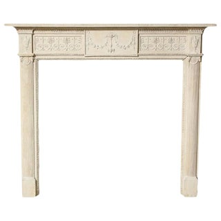 Robert Adam Period Fireplace Mantle For Sale