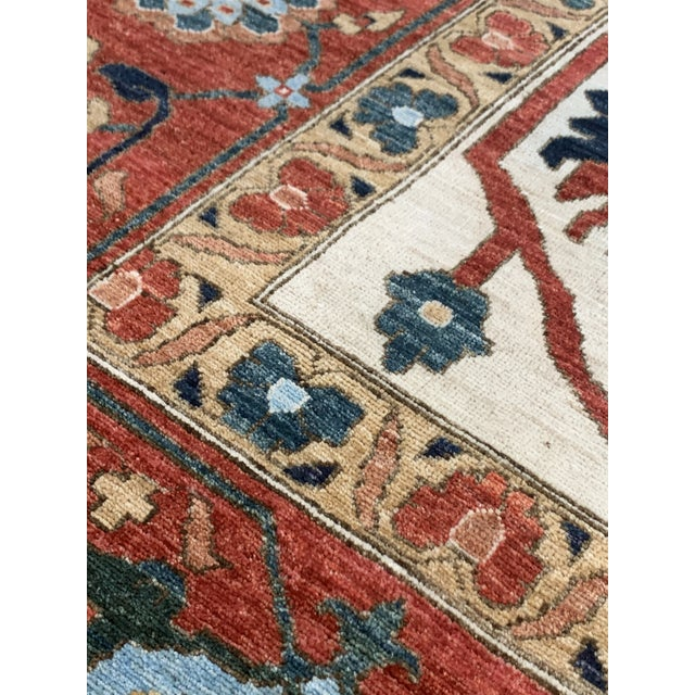 "Contemporary Hand Weaved Kazak Rug-11'8"" X 14'5"" For Sale - Image 10 of 12"