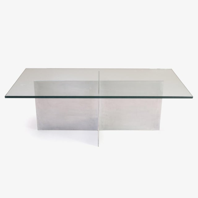 Minimalist Metal Plane Cocktail Table by Paul Mayen for Habitat - Image 2 of 6